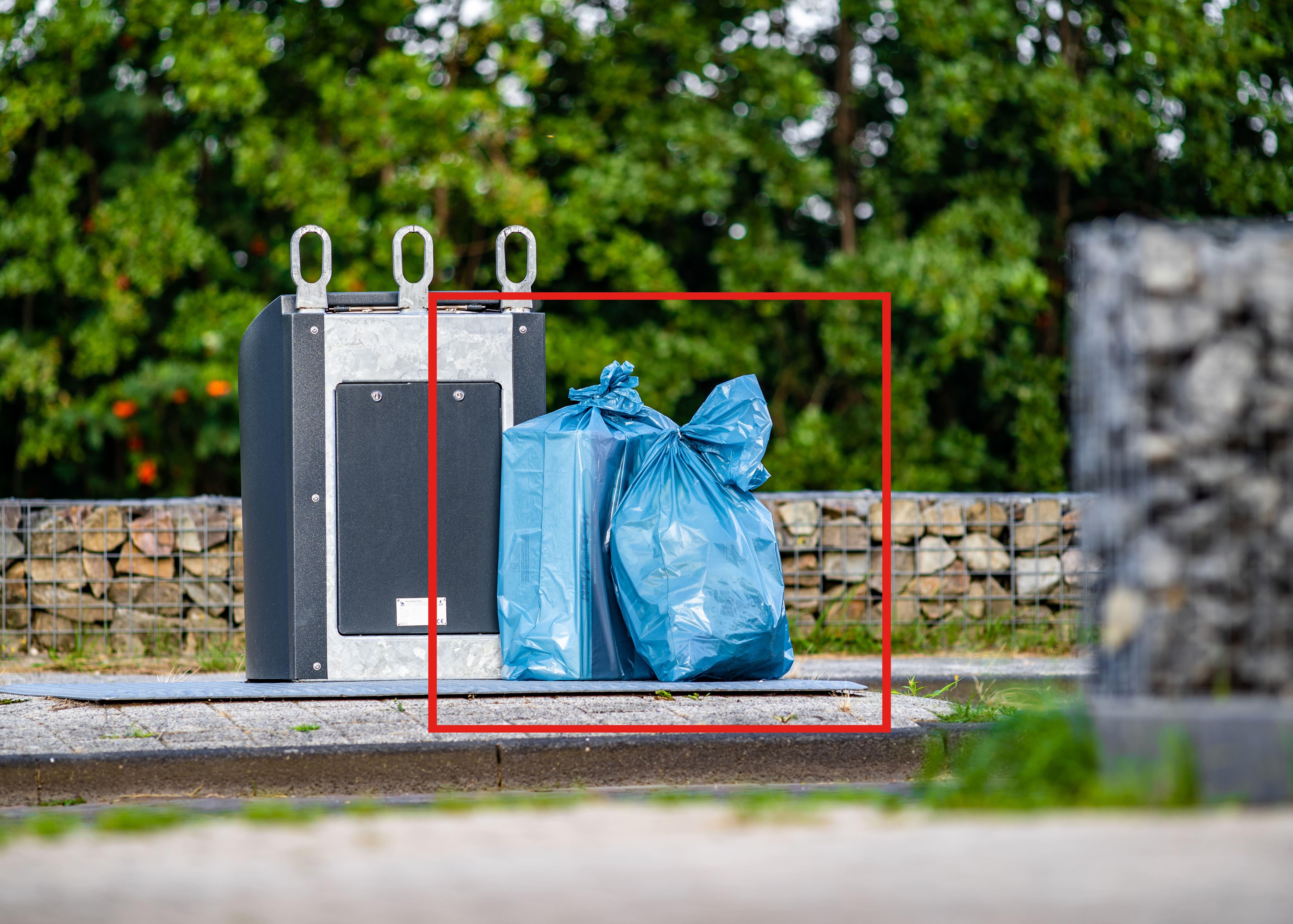 ContainerWatch herkent afval naast de container