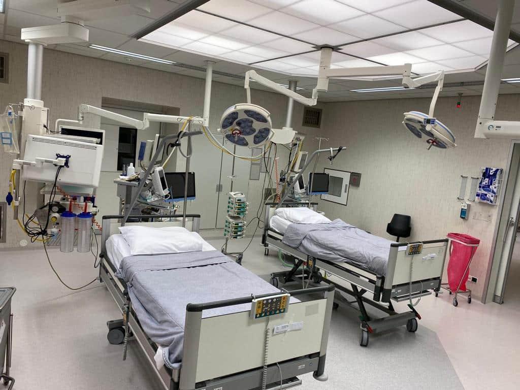 Camera's in intensive care